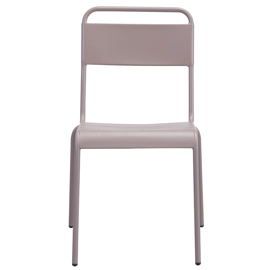 Orestes Taupe Contemporary Dining Chair