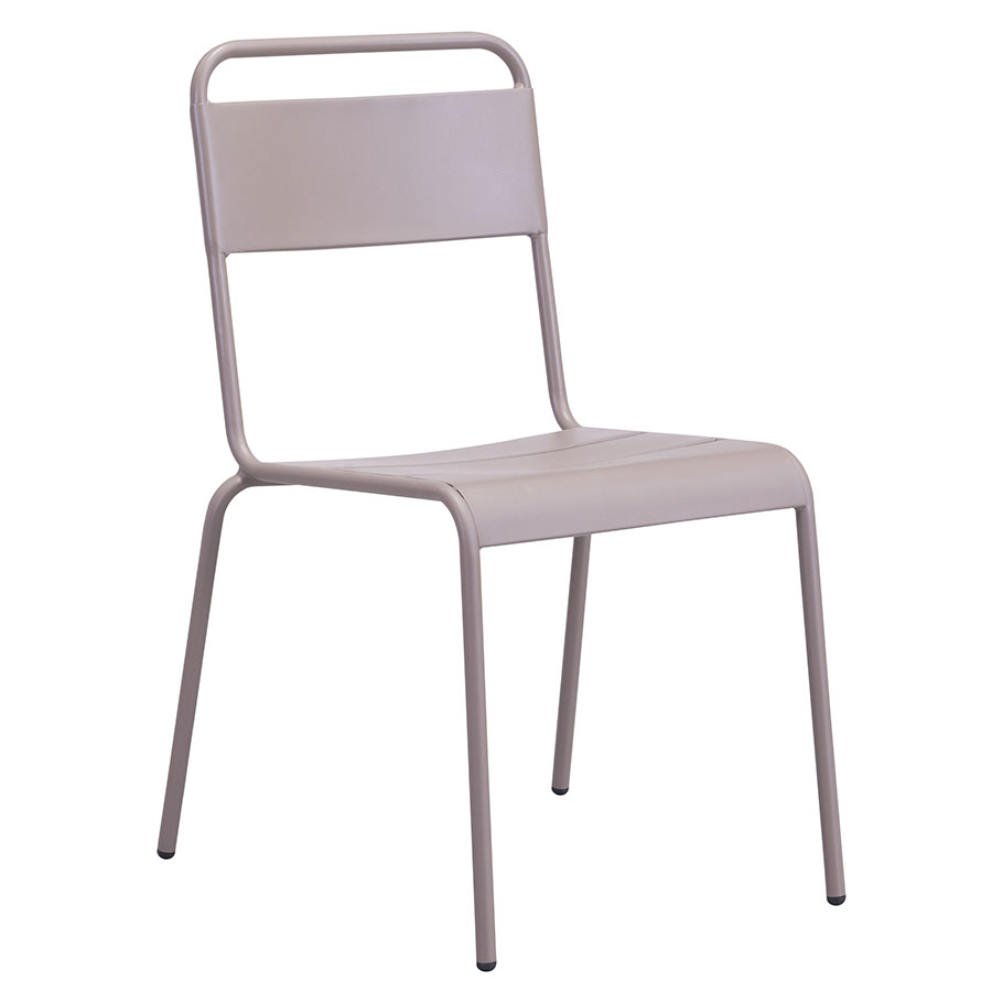 Orestes Taupe Modern Dining Chair
