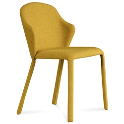 Orion Mustard Modern Dining Chair