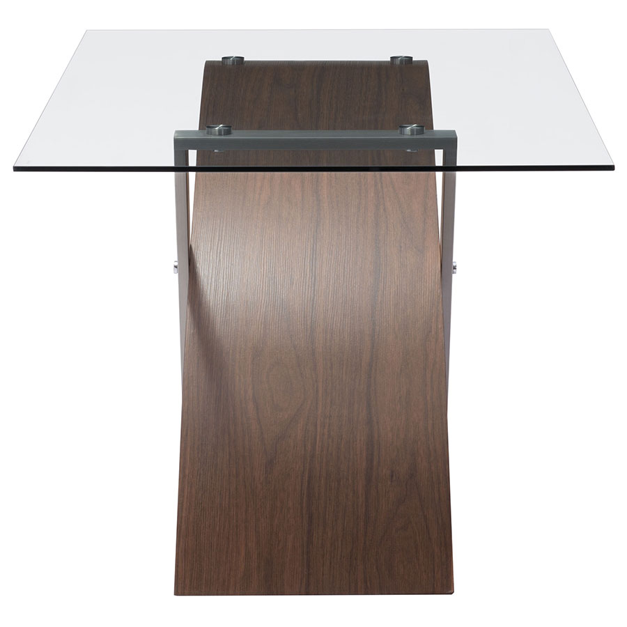 Orlando Modern Dining Table - End View