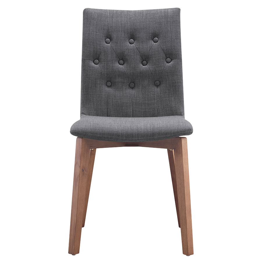 Orson Graphite Contemporary Dining Chair