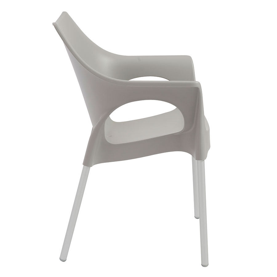 Ola Gray Modern Dining Chair