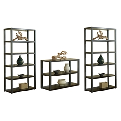 Paige Contemporary Wall Unit in Espresso