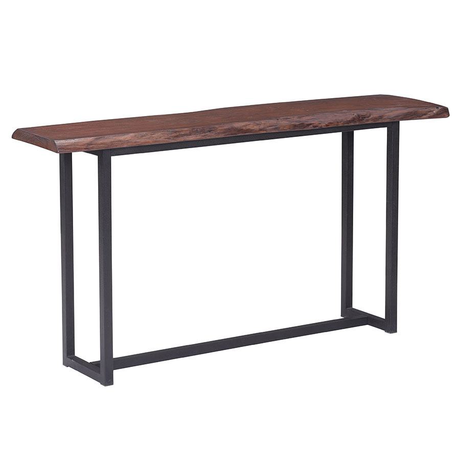 Palo Alto Modern Live Edge Console Table