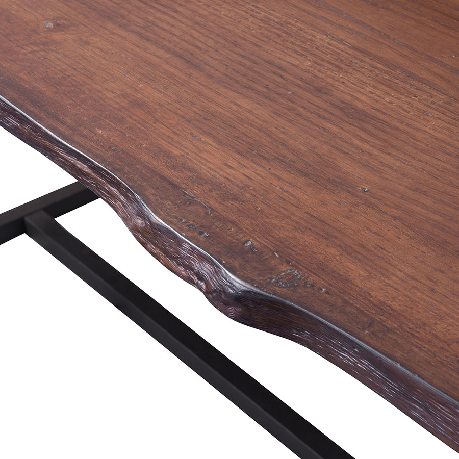 Palo Alto Rustic Modern Live Edge Dining Table