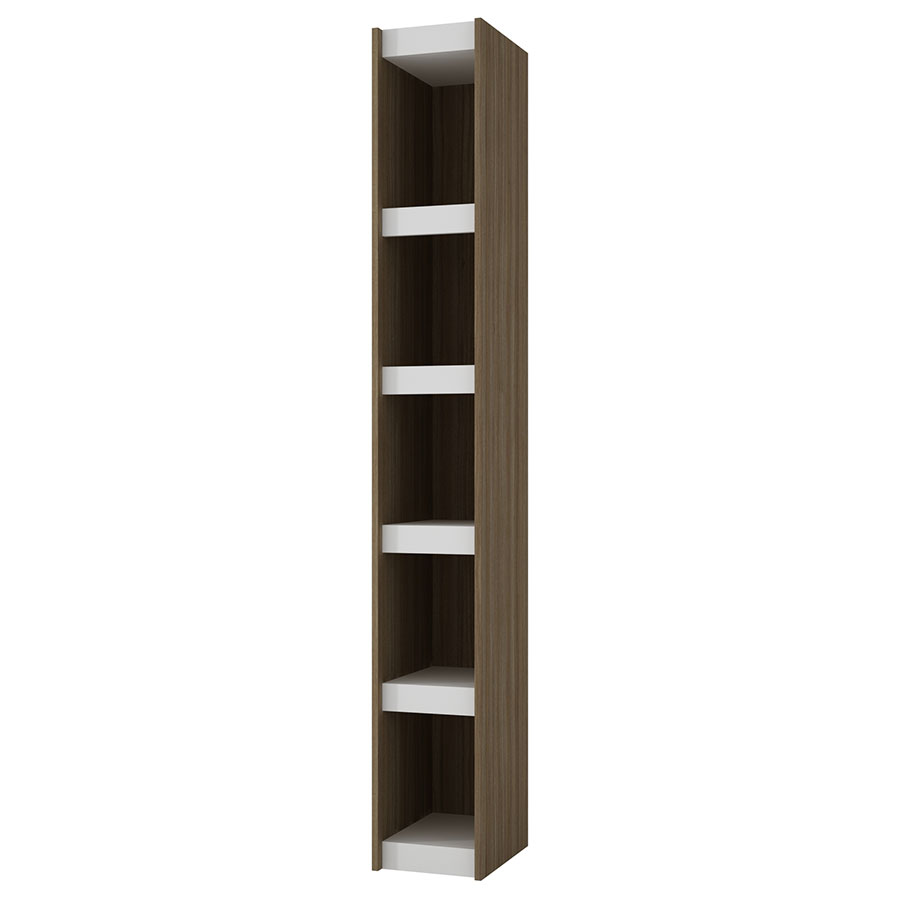 Panama 10 Inch Modern Oak Book Shelf