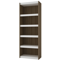 Panama 28 Inch Modern Oak Book Shelf
