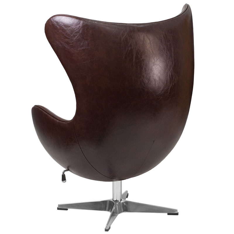 Paradigm Modern Brown Leathersoft Lounge Chair