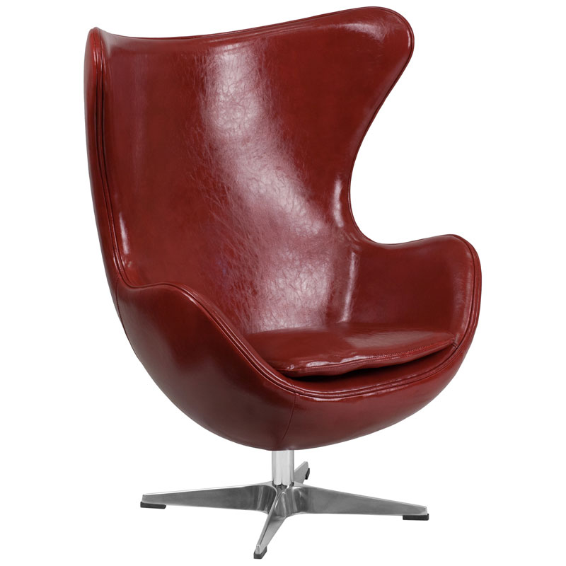 Paradigm Lounge Chair in Cordovan Leathersoft