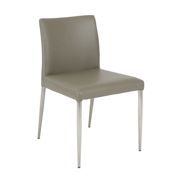 Parnell Modern Taupe Side Chair