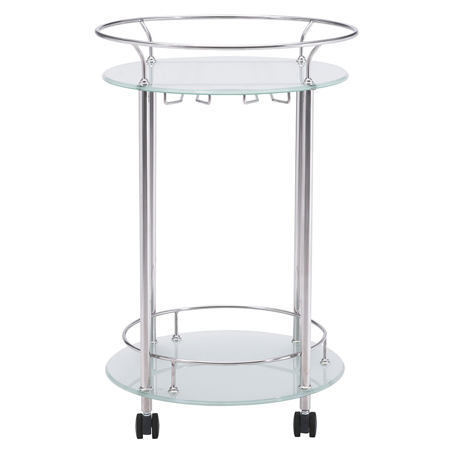 Pavel Contemporary Serving Cart
