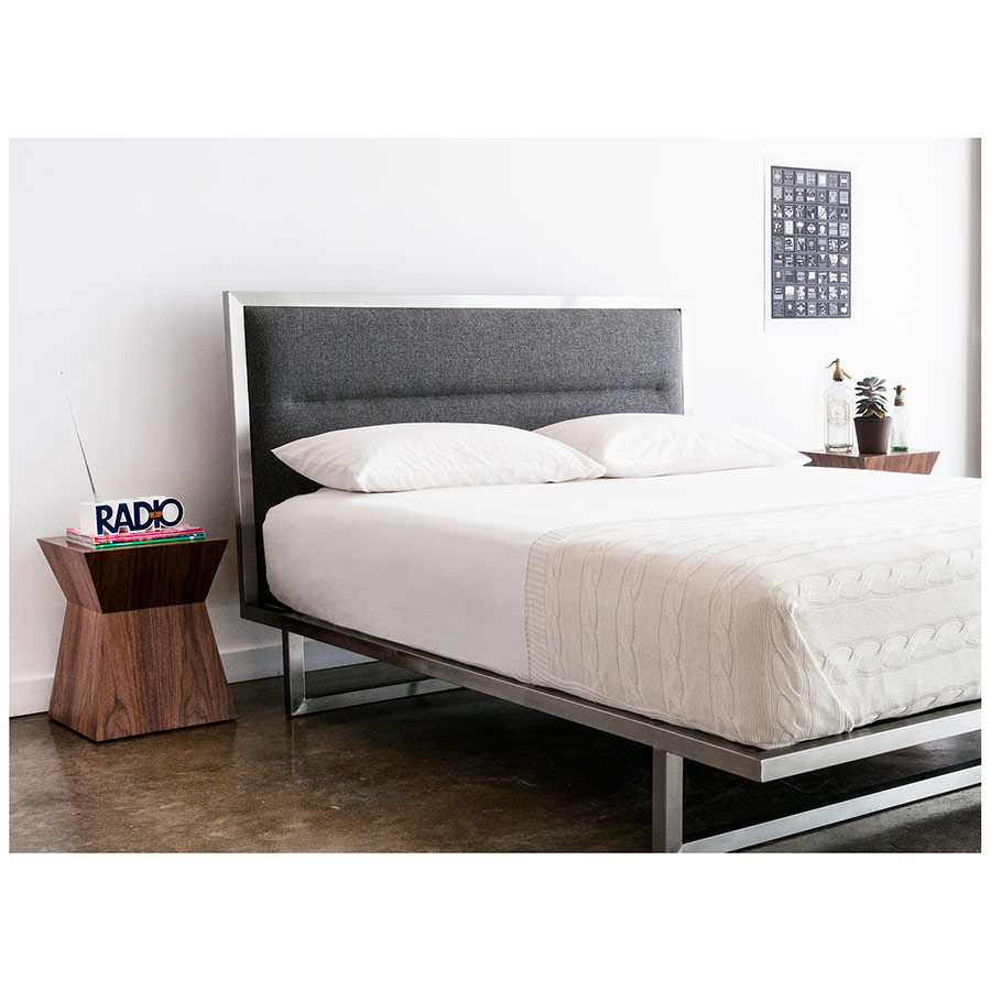 Pawn Contemporary End Table as Bed Table
