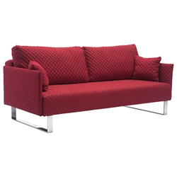 Paxton Red Modern Sleeper