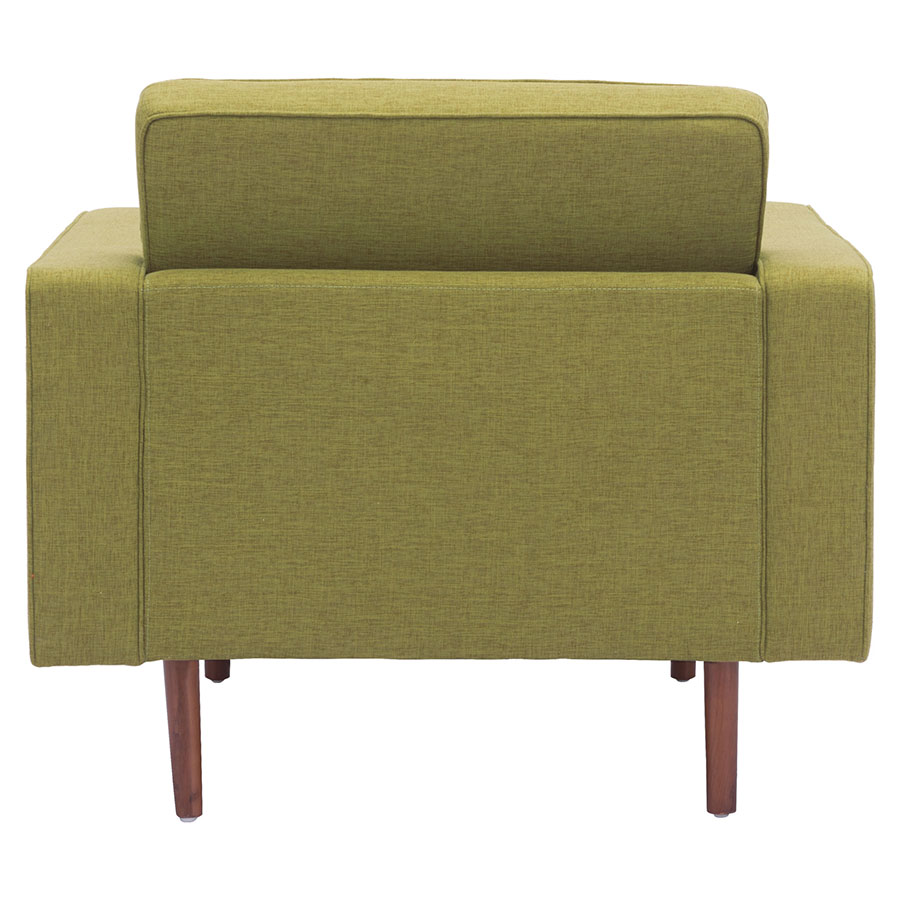 Pekko Green Fabric Contemporary Lounge Chair