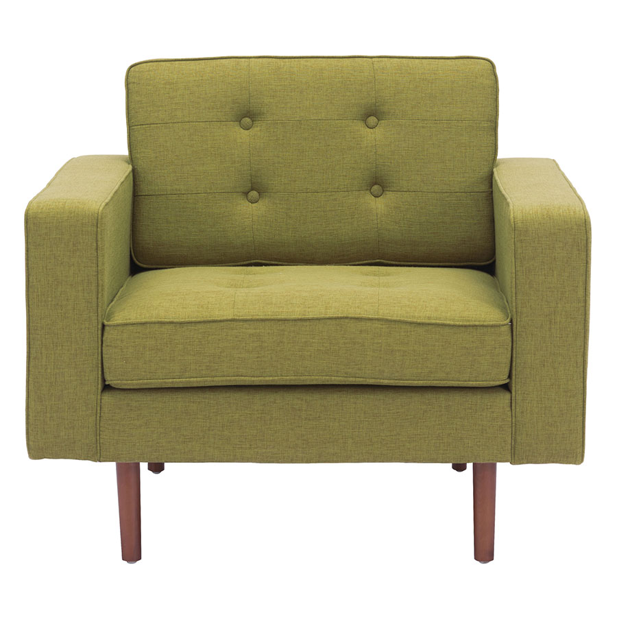 Pekko Green Contemporary Lounge Chair
