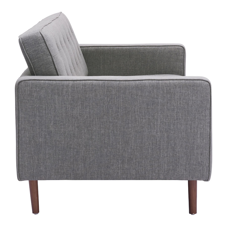 Pekko Gray Fabric Modern Sofa