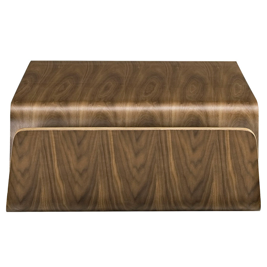Pemberton Modern Walnut Coffee Table