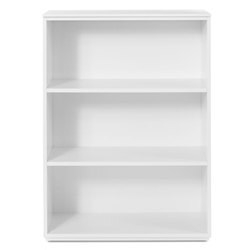 Perfecta Medium Bookcase in White