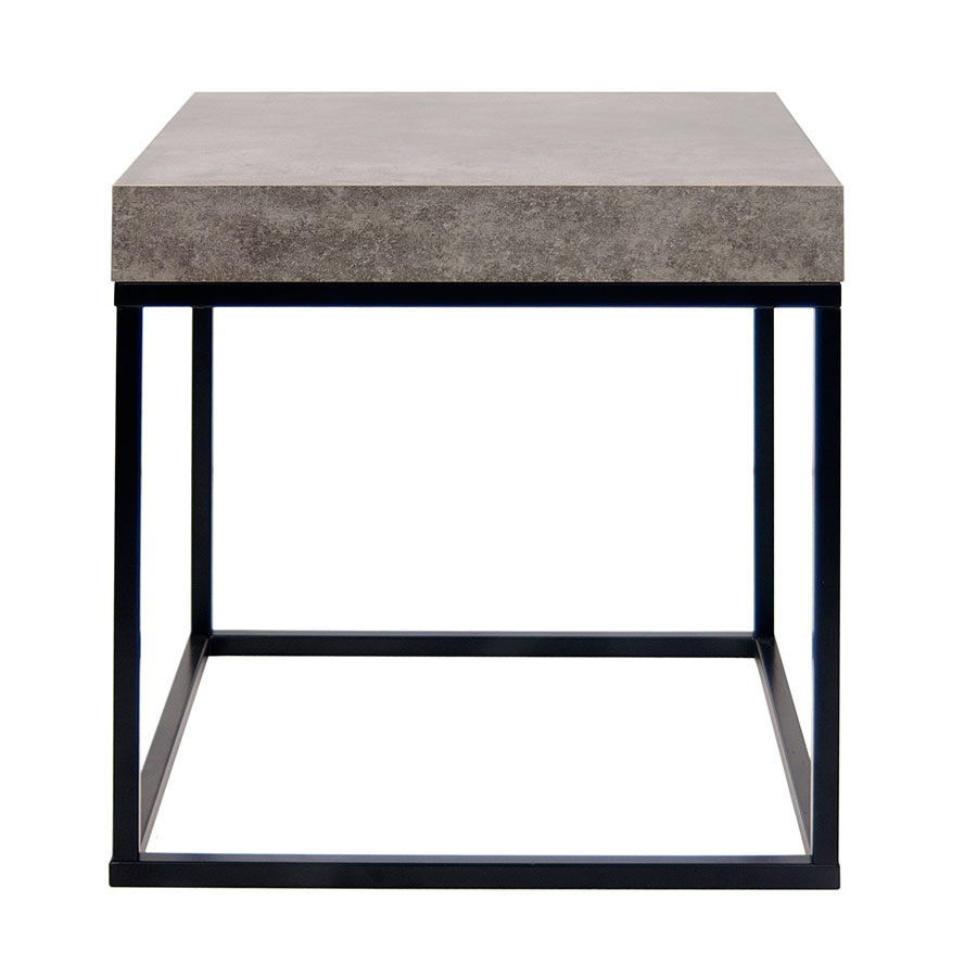 Petra Contemporary End Table Front