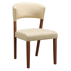 Petyon Modern Dining Chair in Cream