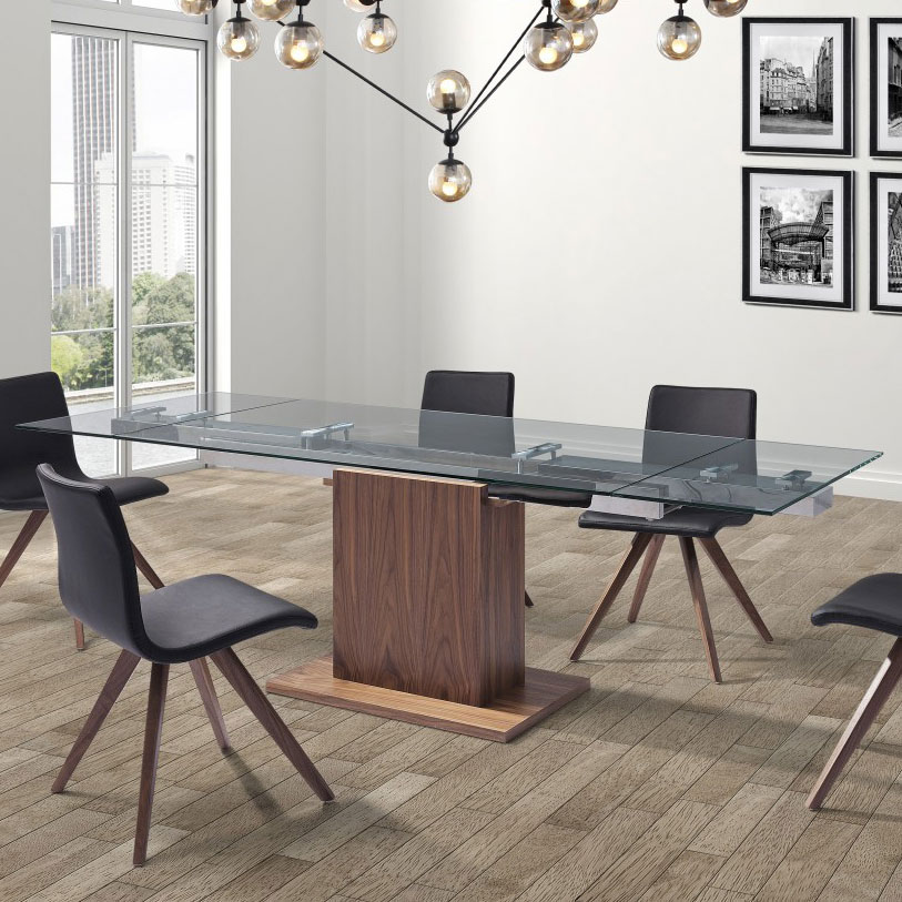 Ping Contemporary Extension Table Room