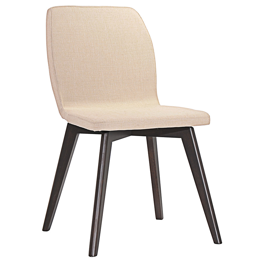 Progress Contemporary Beige Dining Chair