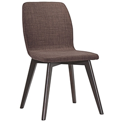 Progress Contemporary Mocha Dining Chair