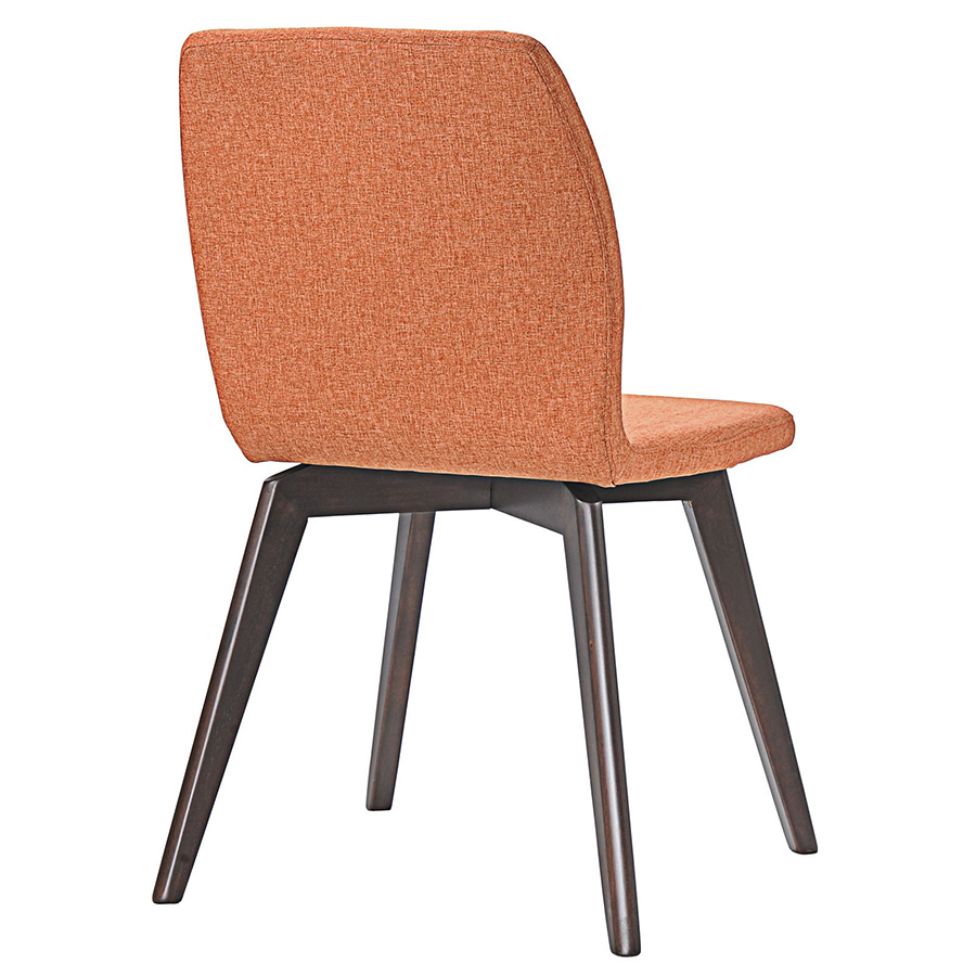 Progress Contemporary Orange Dining Chair - Back View