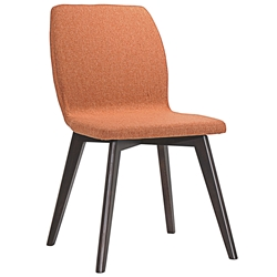 Progress Contemporary Orange Dining Chair