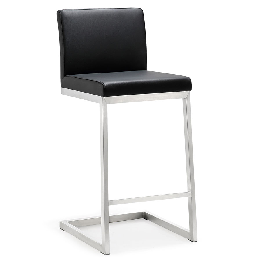Provence Modern Black Counter Height Stool