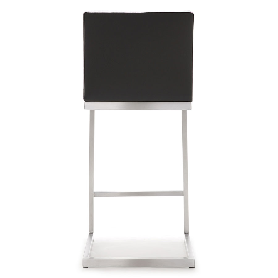Provence Modern Gray Counter Stool - Back View