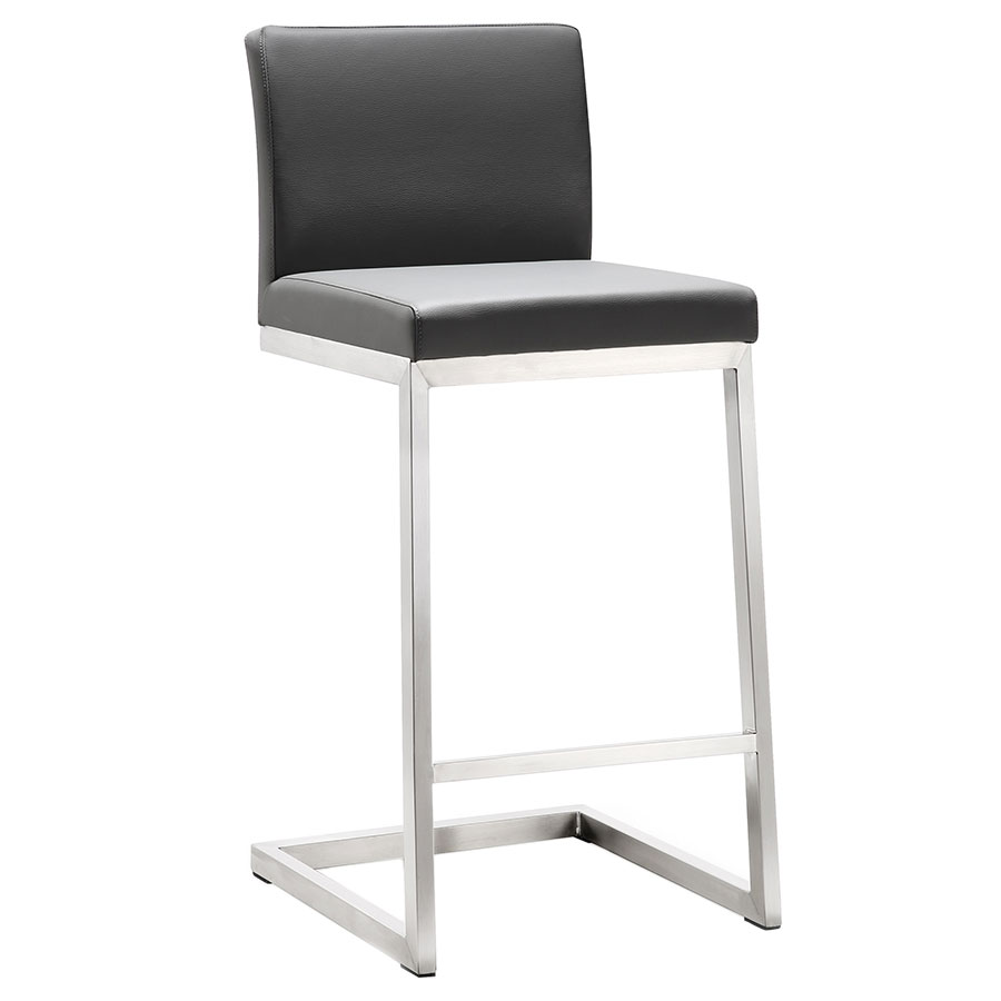 Provence Modern Gray Counter Height Stool