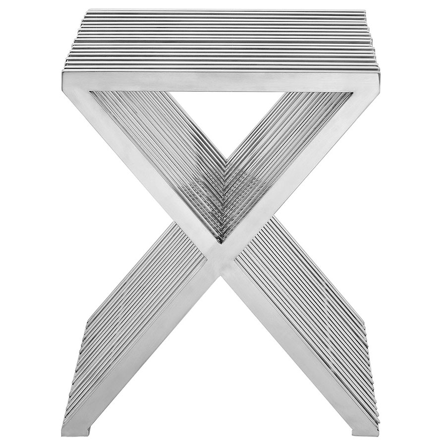 Purdue Modern Side Table - Front View