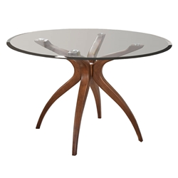 Quinlan Modern Round Dining Table