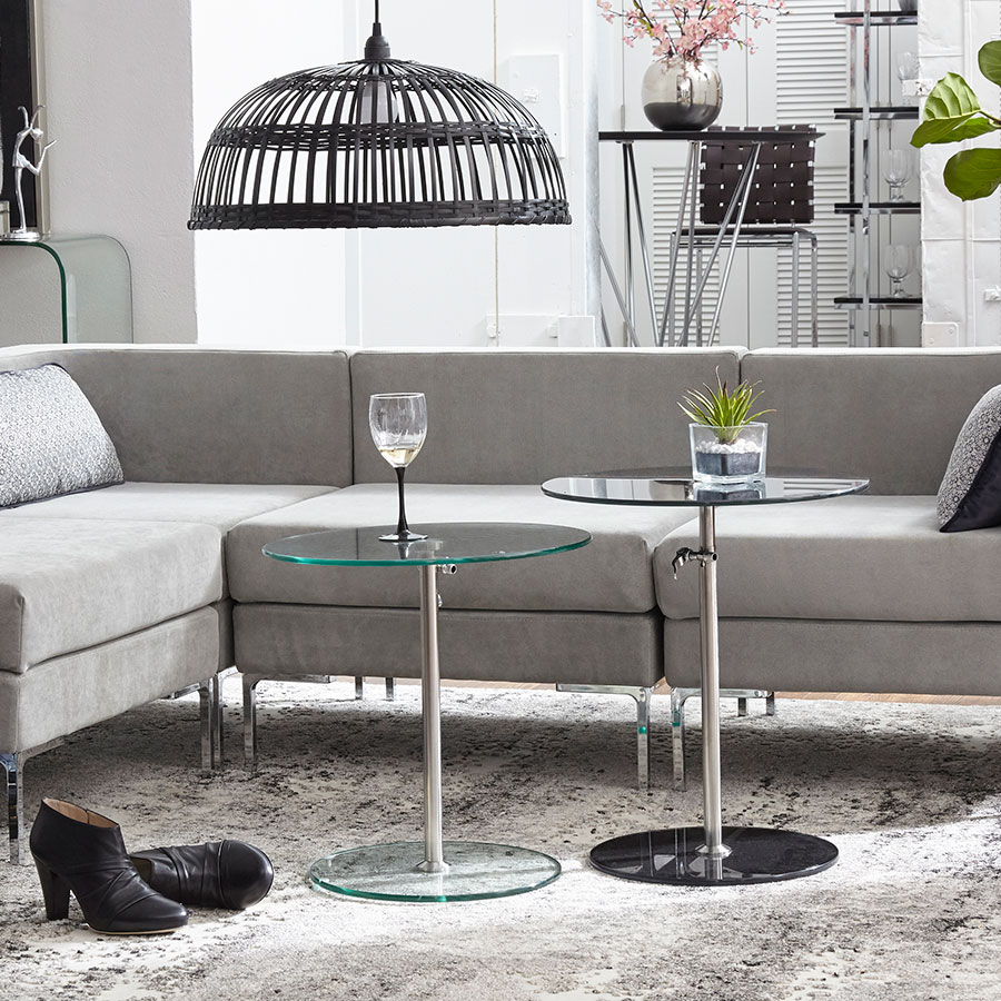Rachel Modern Adjustable Side Tables