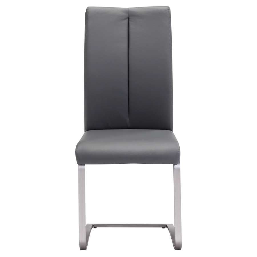 Radka Gray Contemporary Dining Chair