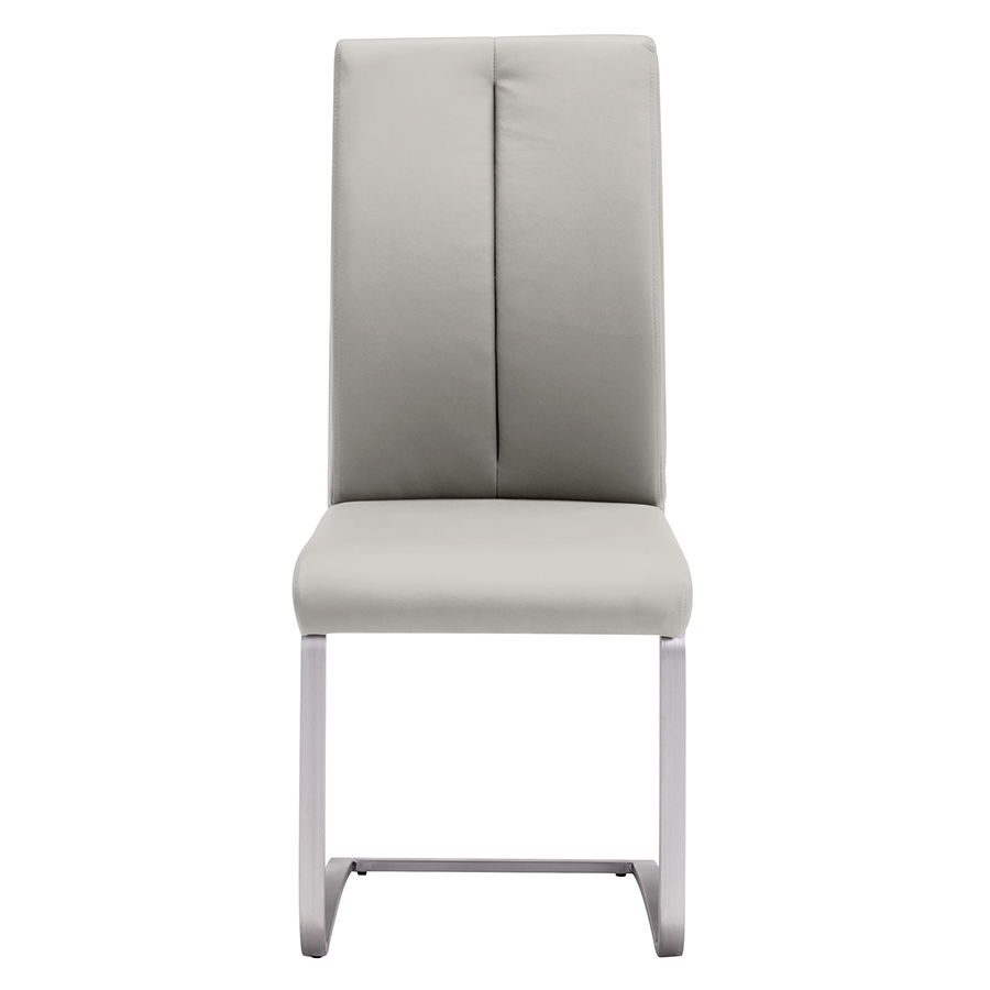 Radka Taupe Contemporary Dining Chair