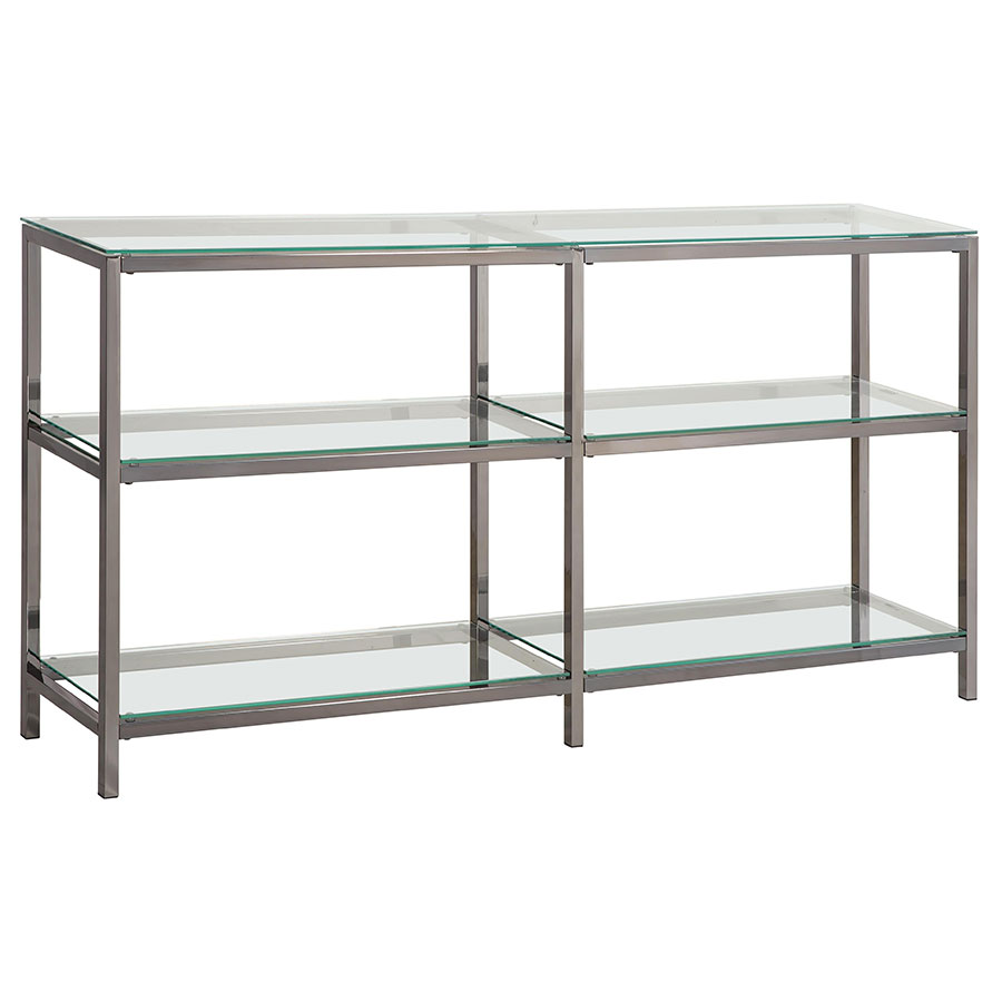 Ramsey Modern Display Shelf Console Table