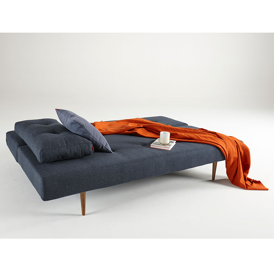 Recast Modern Sleeper Sofa in Nist Blue