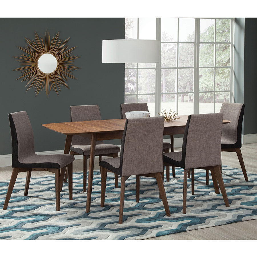 Redding Modern Dining Chairs + Table