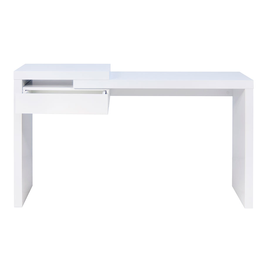 Reef Contemporary Desk Front Open