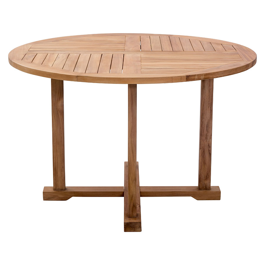 Reilly Round Contemporary Outdoor Dining Table