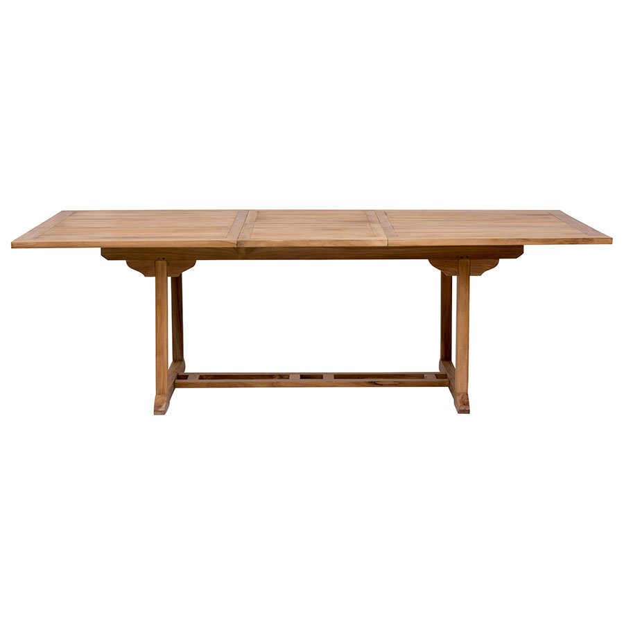 Reilly Modern Craftsman Outdoor Extension Dining Table