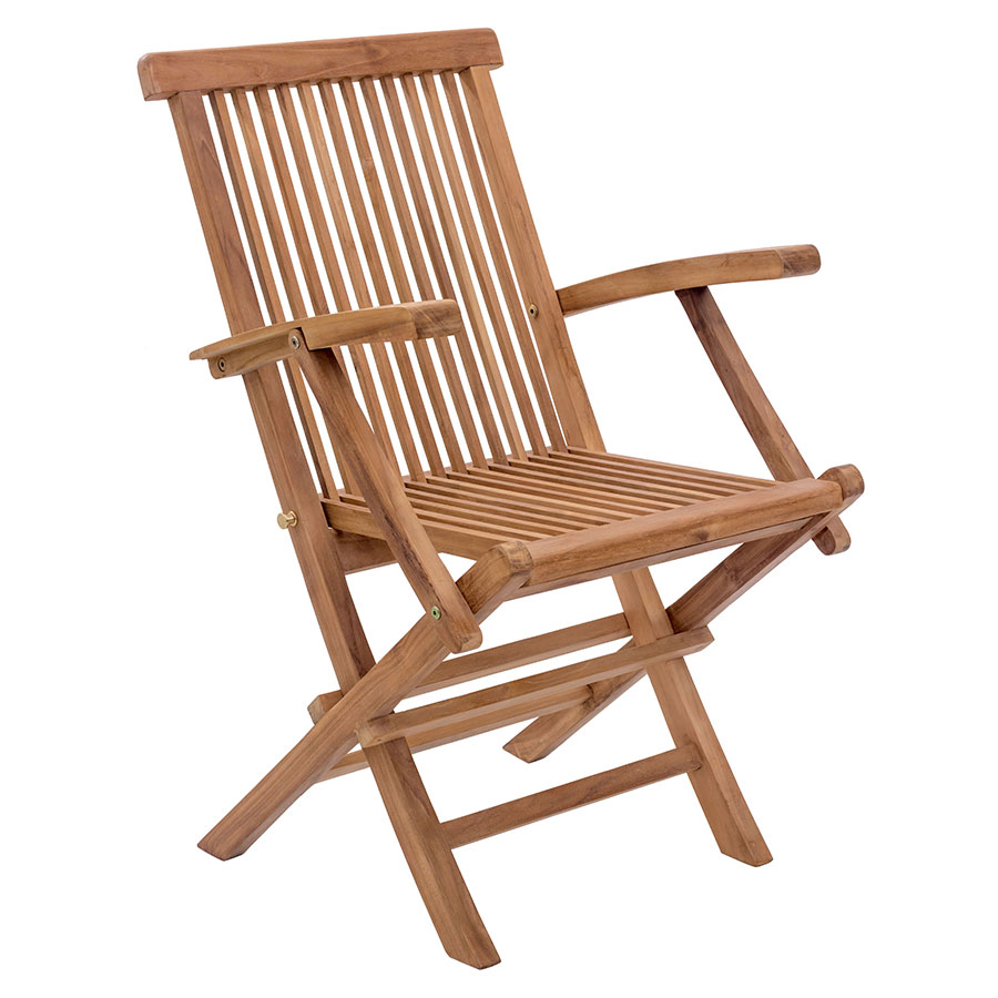 Reilly Modern Outdoor Folding Arm Chair