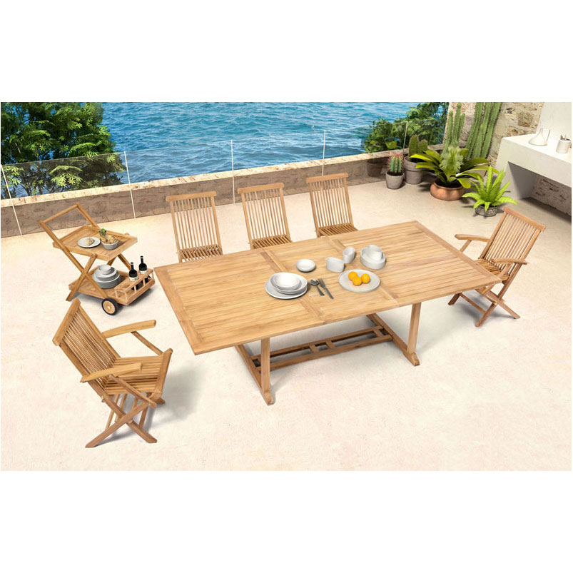 Reilly Contemporary Outdoor Dining Set