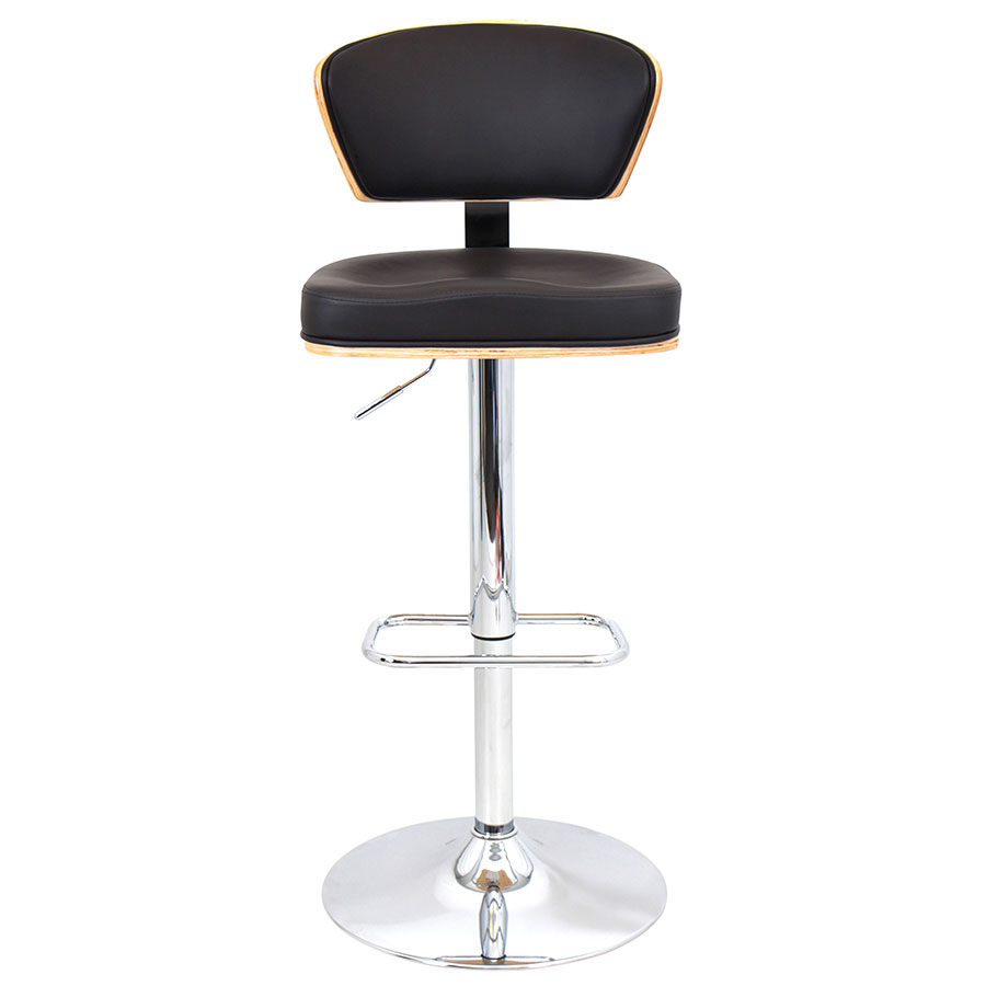 Remy Espresso Contemporary Adjustable Stool