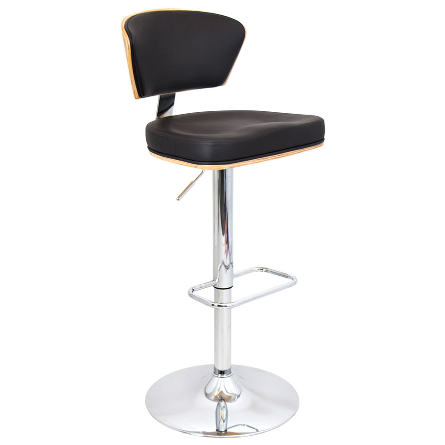 Remy Espresso Modern Adjustable Stool