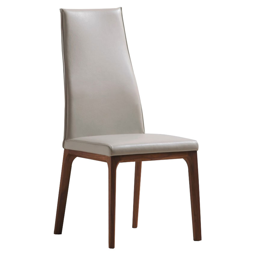 Remy Taupe Contemporary Dining Chair