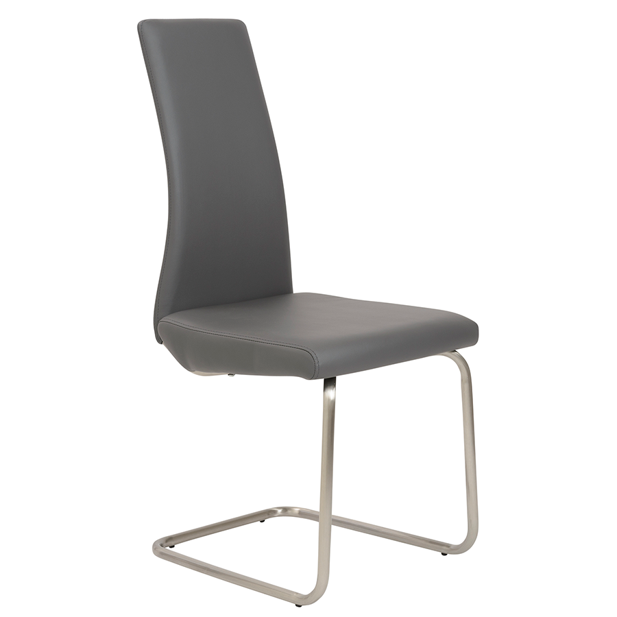 Rhea Gray Modern Side Chair