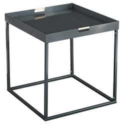 Rhone Modern Tray End Table
